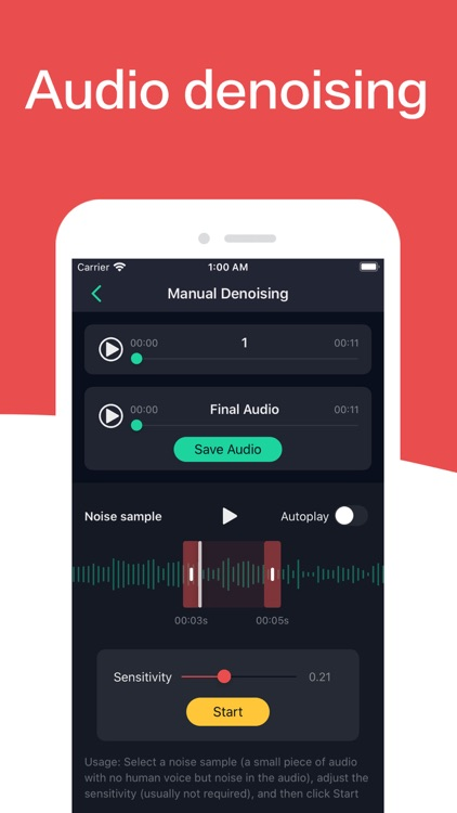 Audio Editor screenshot-4