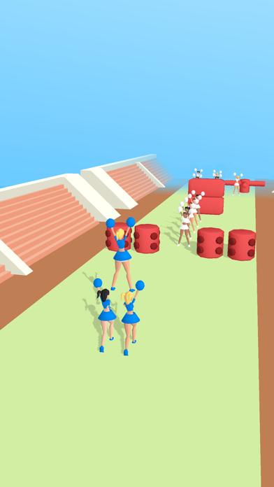 Cheerleader Run 3D screenshot 2