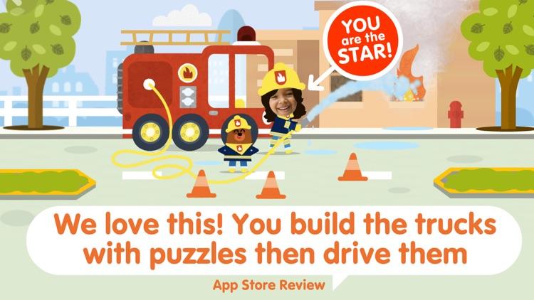 Toddler Car Puzzle Game & Race screenshot-0