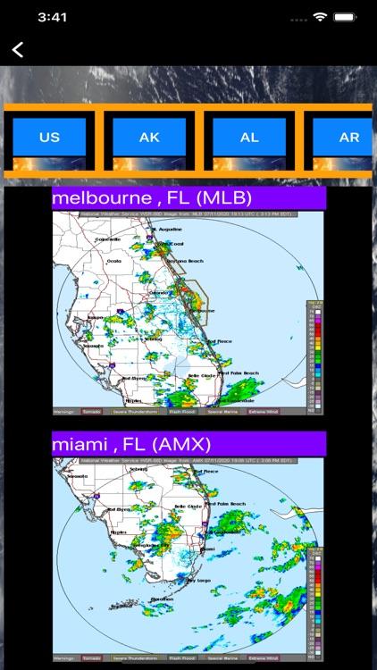 US NOAA Radars 3D Pro screenshot-8