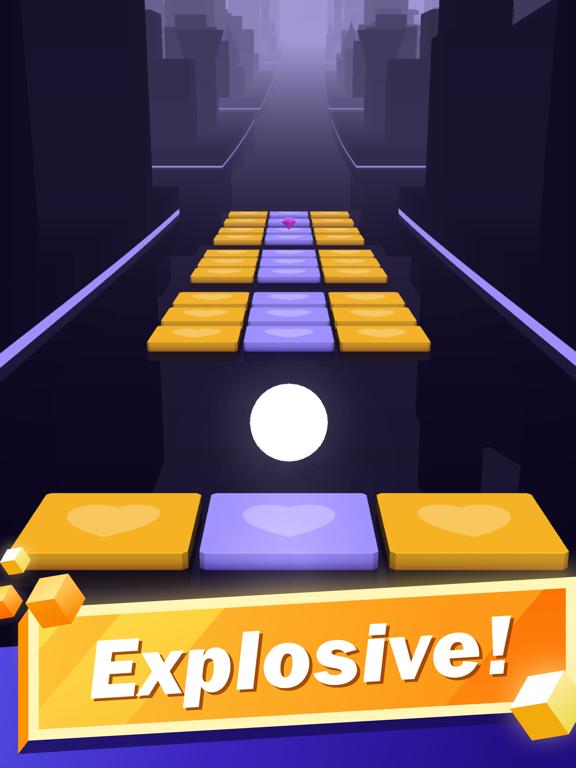 Beat Tiles: Piano Magic Hop iPad app afbeelding 5