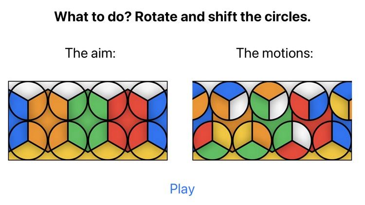 Lateral Cube-Like Rubik's Cube screenshot-7