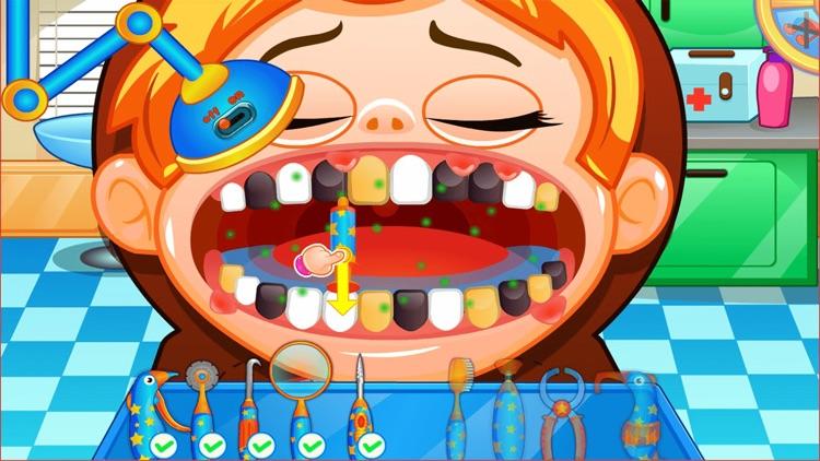 Fun Mouth Doctor, Dentist Game screenshot-5