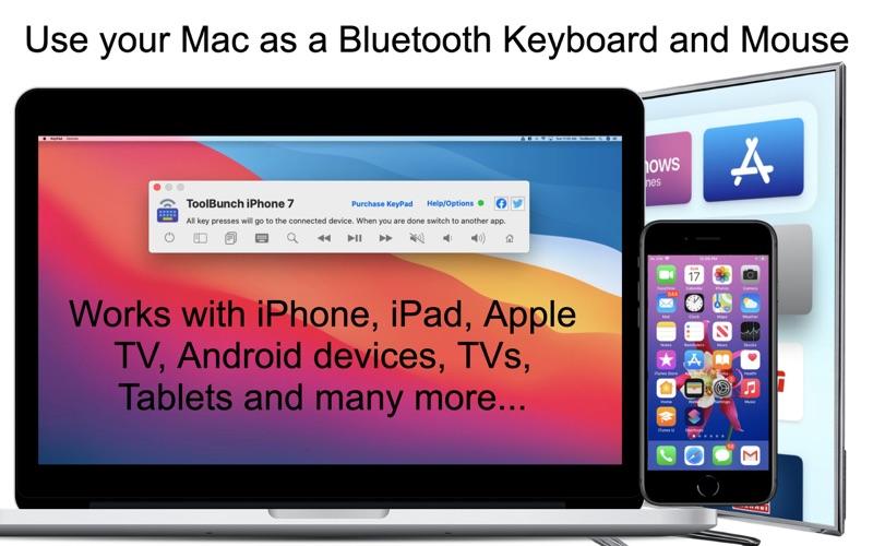 KeyPad - Keyboard and Mouse скриншот программы 1