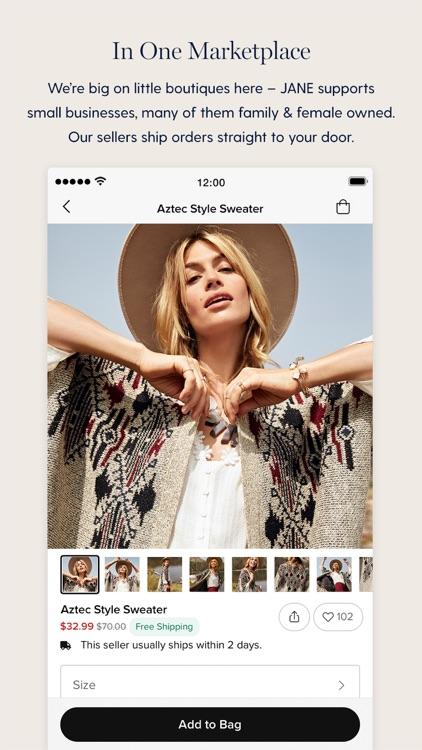 Jane - Boutique Shopping Deals screenshot-5