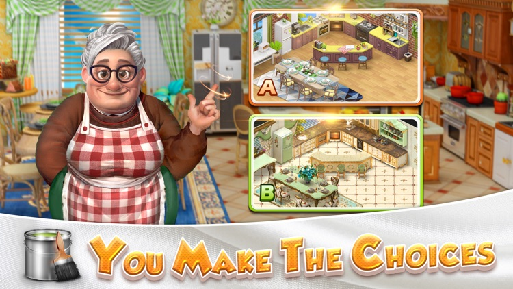 Solitaire Home Design-Fun Game screenshot-3