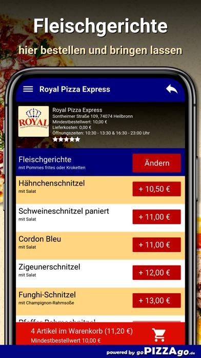 Royal Pizza Express Heilbronn screenshot 4
