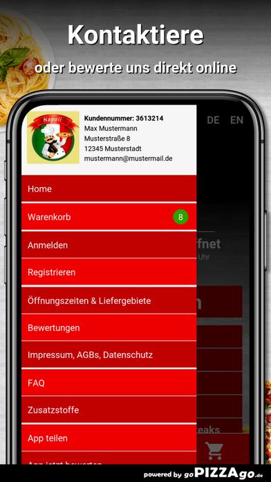 Napoli Pizza-Service Groitzsch screenshot 3