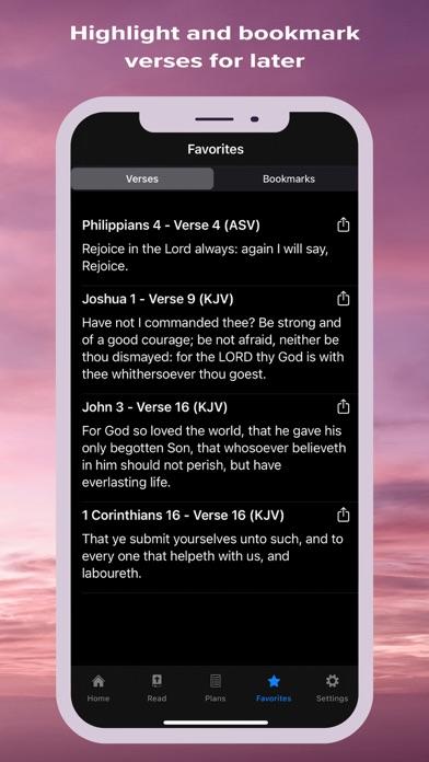 The Bible - Verse & Prayer Screenshot