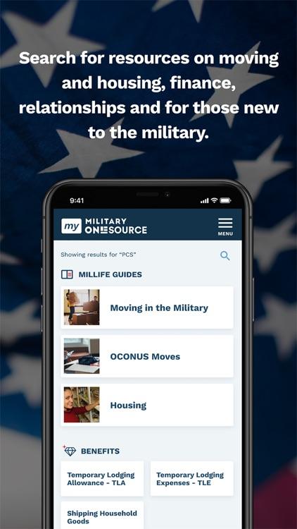 My Military OneSource screenshot-3