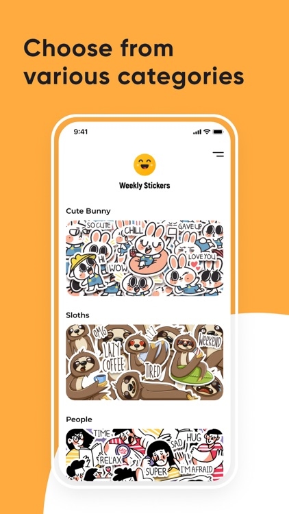 Weekly Stickers: Funny packs