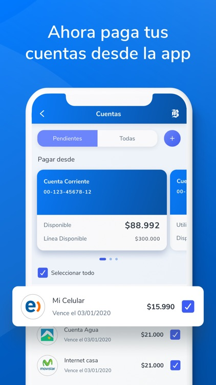 Mi Banco_CrediChile screenshot-3