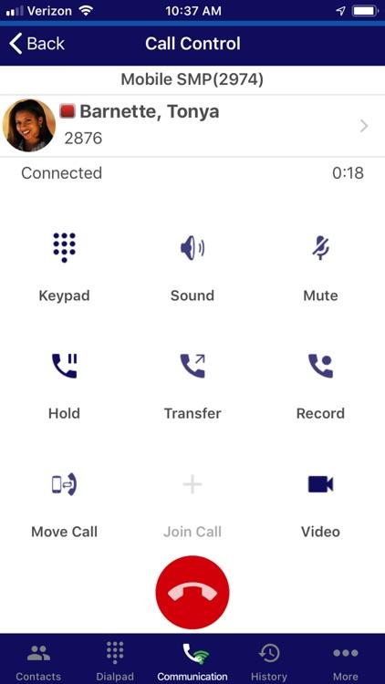 UNIVERGE 3C Mobile Client Plus screenshot-4