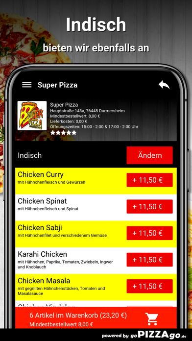 Durmersheim Super Pizza screenshot 6