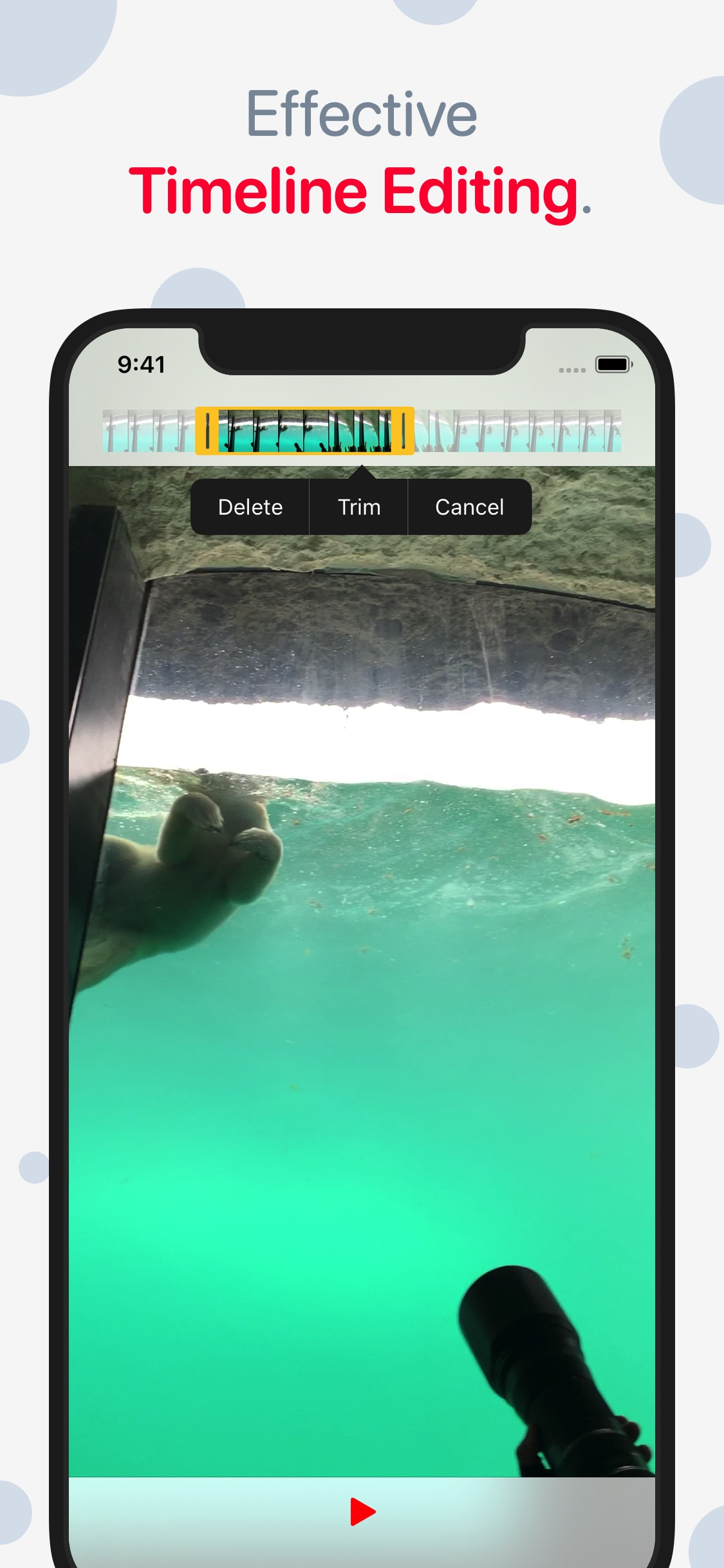 Screenshot do app Emulsio › Video Stabilizer