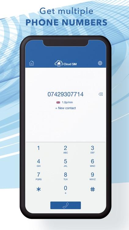 Cloud SIM: Second Phone Number screenshot-3