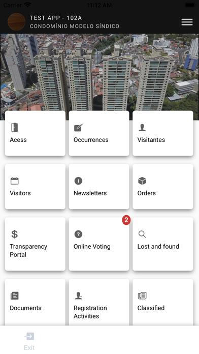 Screenshot of Adecon App