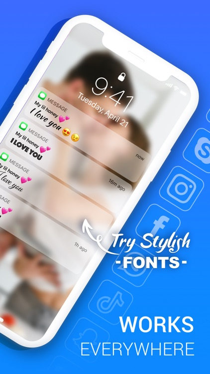 Fonts X - Keyboard for iPhone