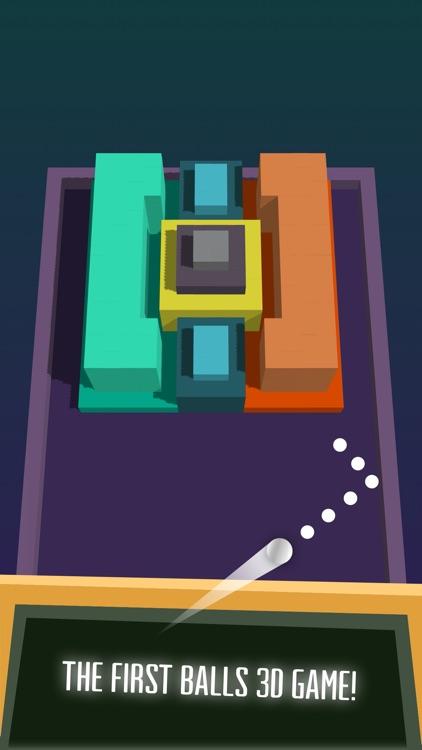 Balls 3D: Bricks breaker game