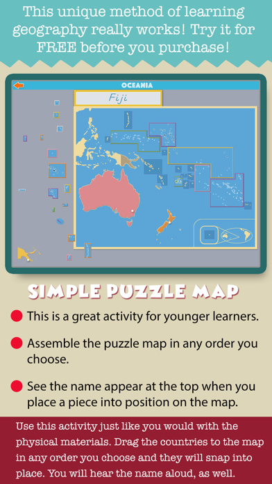 Montessori Geography School Ed screenshot 8