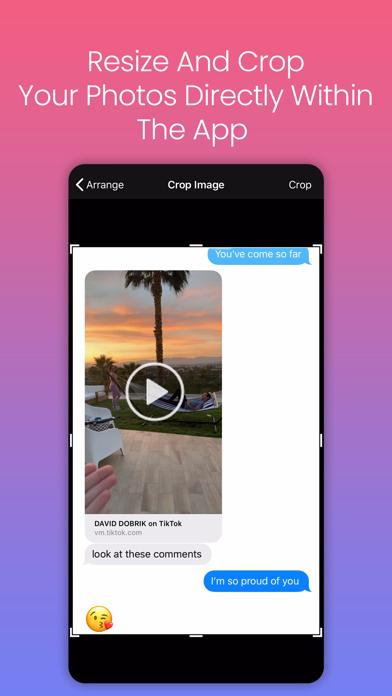 Edit Pics & Collages PicMerger screenshot