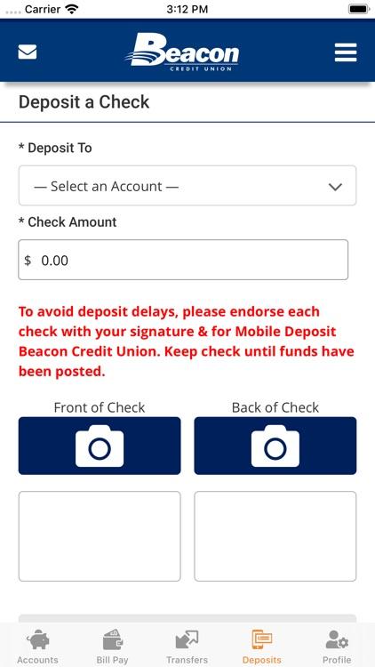 Beacon Credit Union screenshot-4