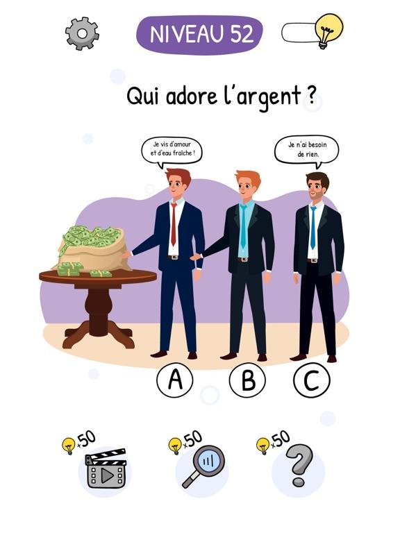 Who is? Énigmes et casse-têtes