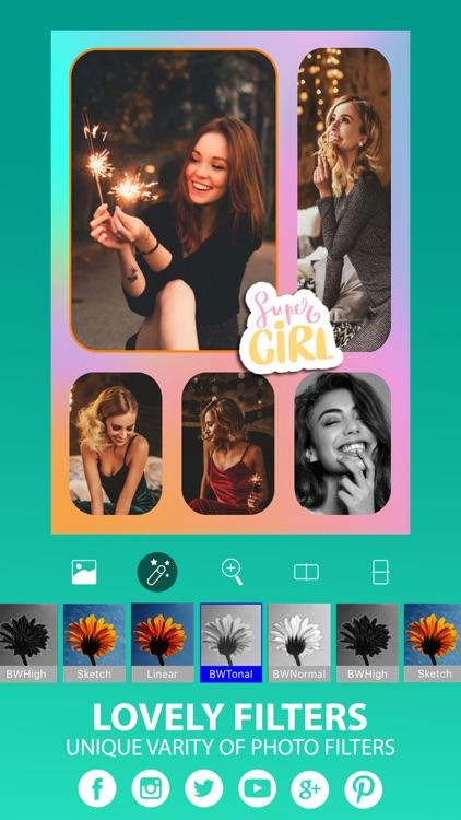 Photo Collage Maker • Pic Grid screenshot-3