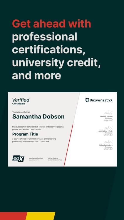 edX: Courses by Harvard & MIT screenshot-5