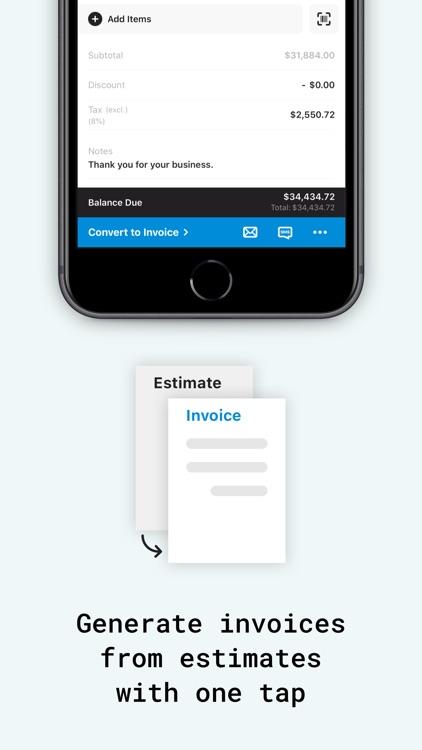 Tiny Invoice - Estimate Maker screenshot-6