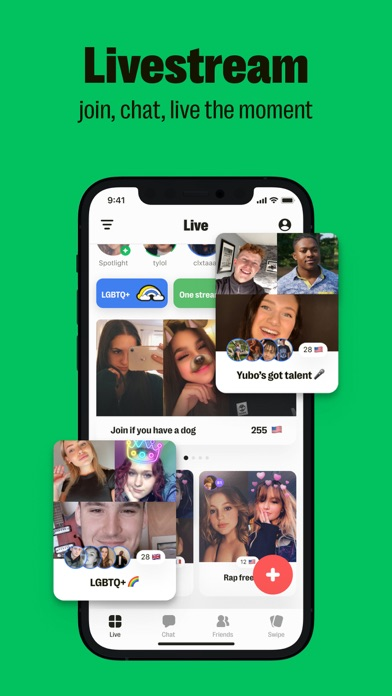 Yubo : Make friends & Go live wiki review and how to guide