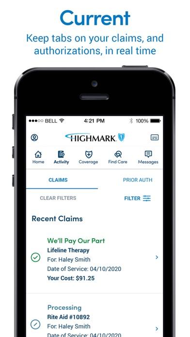 Highmark PlanScreenshot of 3