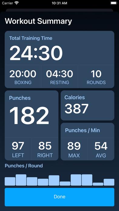 PunchTracker screenshot 3
