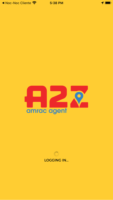 Amrac Agent Screenshot
