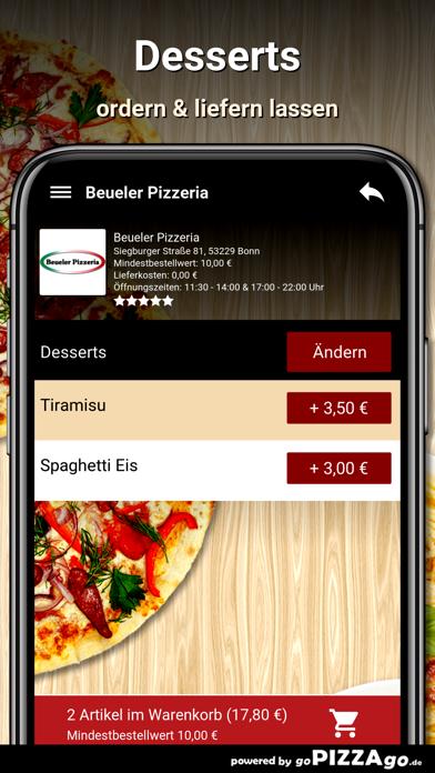 Beueler Pizzeria Bonn screenshot 6
