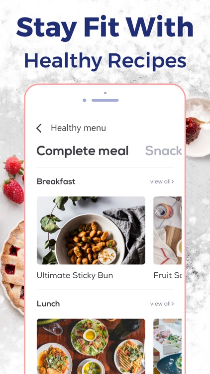 Calorie Counter & Food Tracker