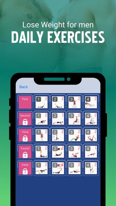 Abnehmen für Männer WorkoutsScreenshot von 2