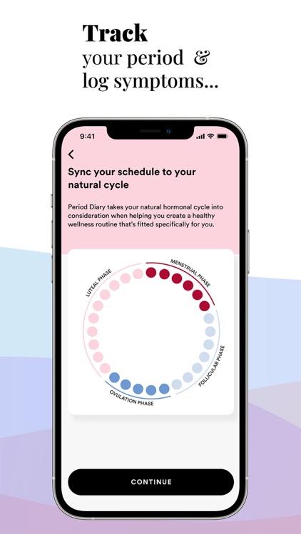 Period Diary, Cycle Tracker screenshot-3