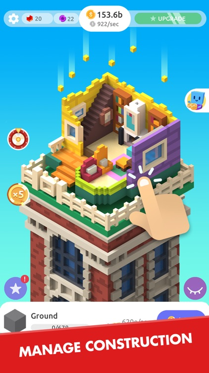 TapTower - Idle Building Game screenshot-3