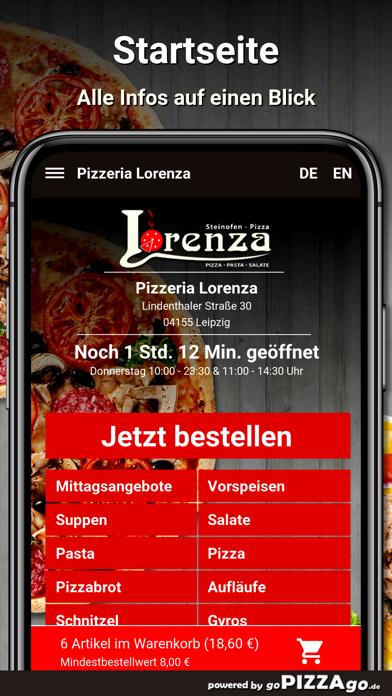 Pizzeria Lorenza Leipzig screenshot 2