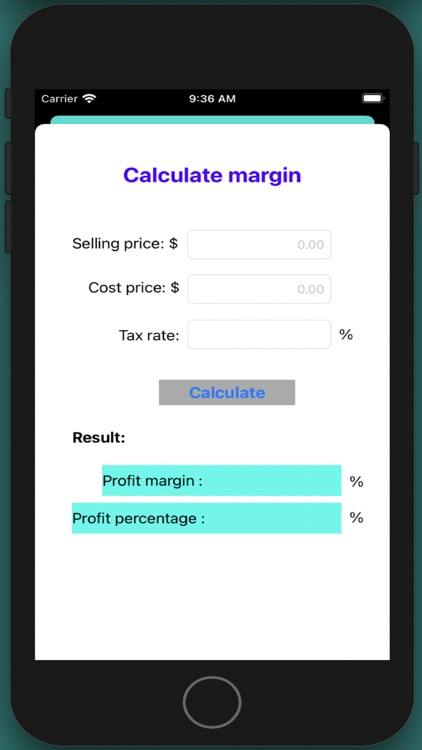 Business Cost Calculation screenshot-3