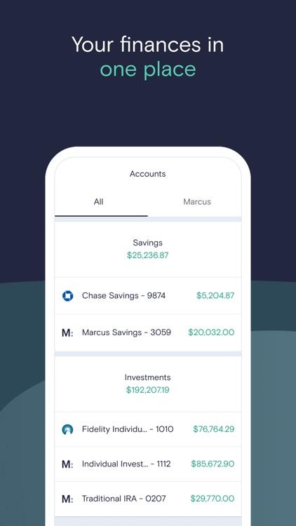 Marcus: Save, Borrow, Invest