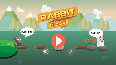 Rabbit Escape-Water jump screenshot 1