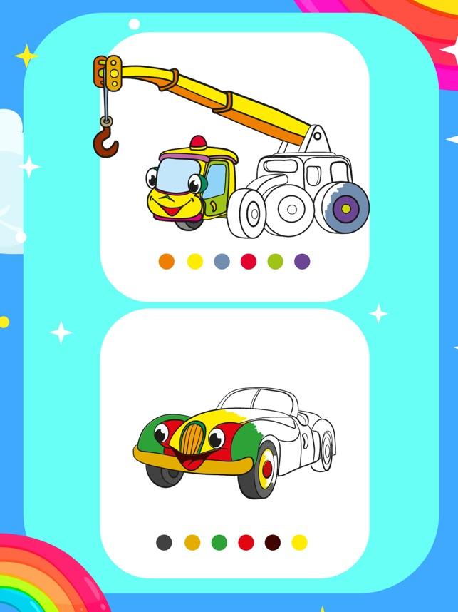 Mobil Sihir Mewarnai Halaman On The App Store