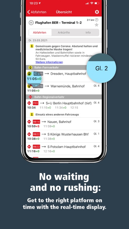 VBB Bus & Bahn: Route planner screenshot-3