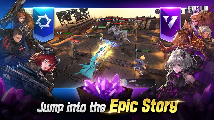 Heroes War: Counterattack screenshot-5