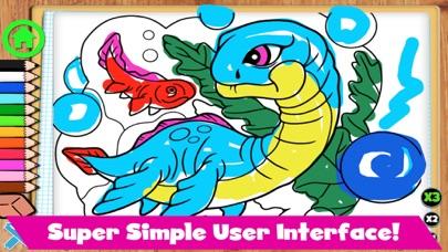 Coloring Dinos screenshot 3