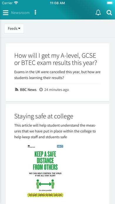 My Ayrshire College screenshot 2