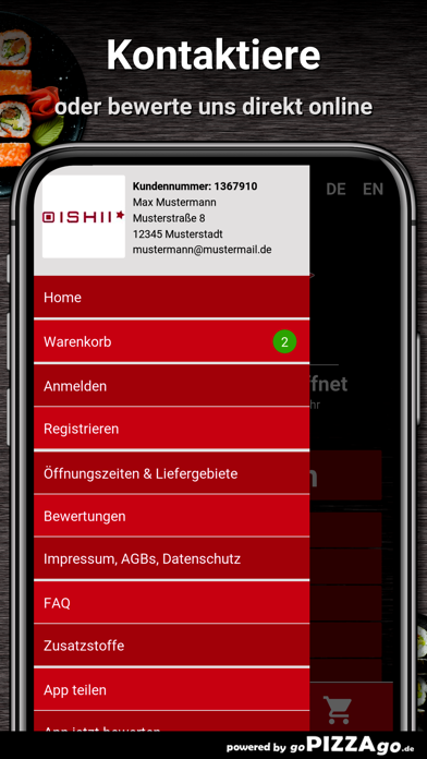 Oishii Aachen screenshot 3