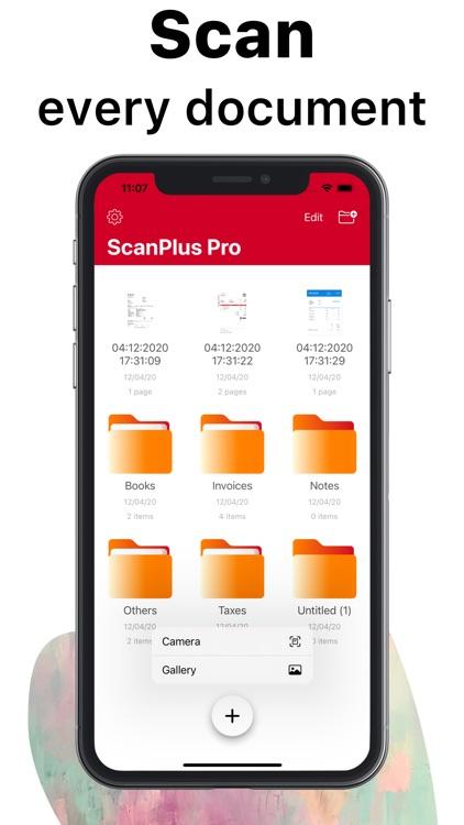 ScanPlus Pro - Scan Documents screenshot-0